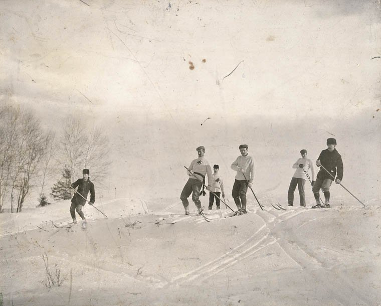 Skiing history